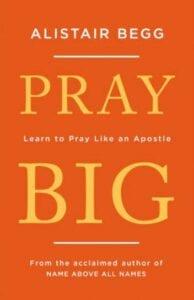 Pray big cover